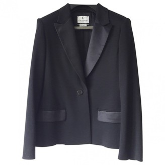 Guy Laroche Black Wool Jacket for Women Vintage
