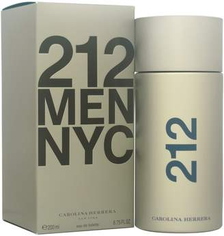 Carolina Herrera 212 Eau De Toilette Spray for Men, 6.75-Ounce