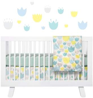 Babyletto 'Garden' Crib Sheet, Crib Skirt, Play Blanket, Changing Pad Cover, Stroller Blanket & Wall Decals