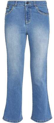 Alice + Olivia Alice+olivia Faded Flared Jeans