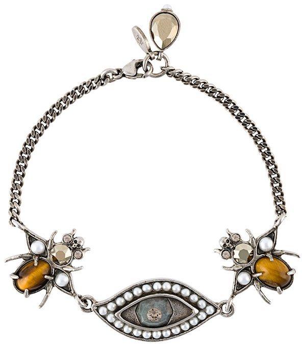 Alexander McQueenAlexander McQueen 'Eye Bug' bracelet