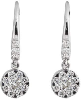 Rina Limor Fine Jewelry Diamond Dangling Flower Earrings