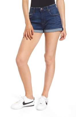 STS Blue Rose Bowl Cuffed Denim Shorts
