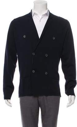 Lanvin Double-Breasted Knit Cardigan