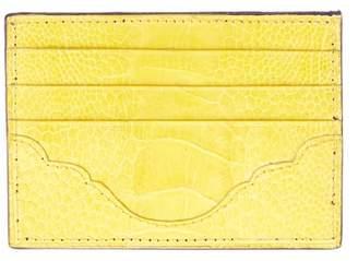 Okapi Card Holder / Lathyrus Ostrich Shin