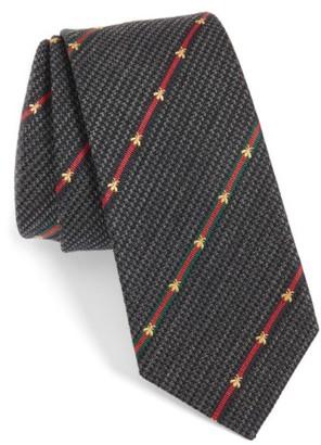 Men's Gucci Savanur Silk & Wool Tie $200 thestylecure.com