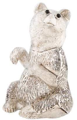 Christofle Lumiere d'Argent Bear Figurine Argent Lumiere d'Argent Bear Figurine