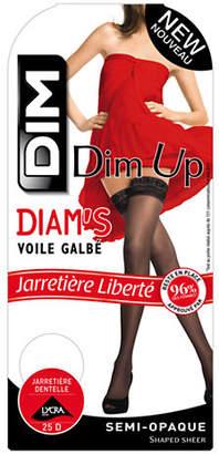 Dim Diam's Semi Opaque Stay Ups 25D
