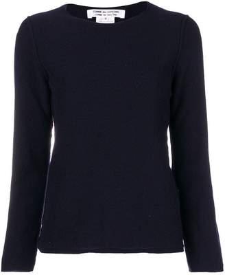 Comme des Garcons crew neck sweater