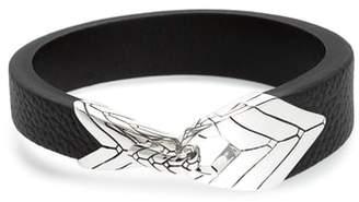 John Hardy Modern Chain Leather Bracelet