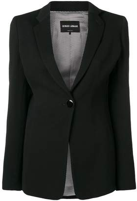 Giorgio Armani classic single-breasted blazer