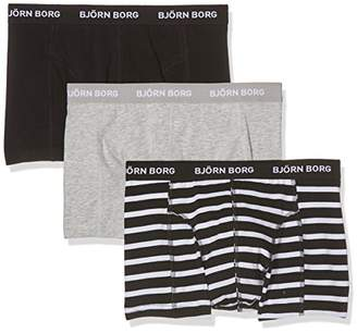 Bjorn Borg Men's BB Stripe Shorts 3 Pack