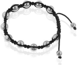 Shamballa FINE JEWELRY Mens Stainless Steel Bead Bracelet