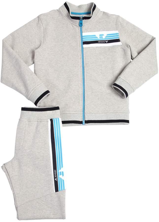 Sweatshirt Und Trainingshose Aus Baumwolle