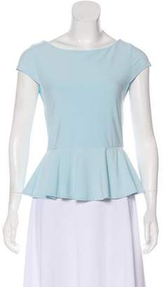 Alice + Olivia Knit Short Sleeve Top