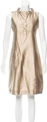 Max Mara 'S Sleeveless Silk Dress w/ Tags