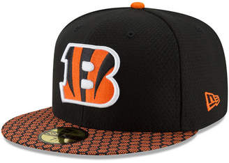 New Era Boys' Cincinnati Bengals Sideline 59FIFTY Fitted Cap
