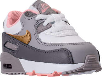 Nike Girls' Toddler 90 Leather Casual Shoes