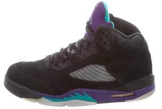 Nike Jordan 5 Retro High-Top Sneakers