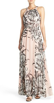 Women's Eliza J Chiffon Maxi Dress $158 thestylecure.com