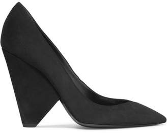 Niki Suede Pumps - Black