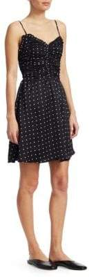 Maje Renota Polka Dot Dress