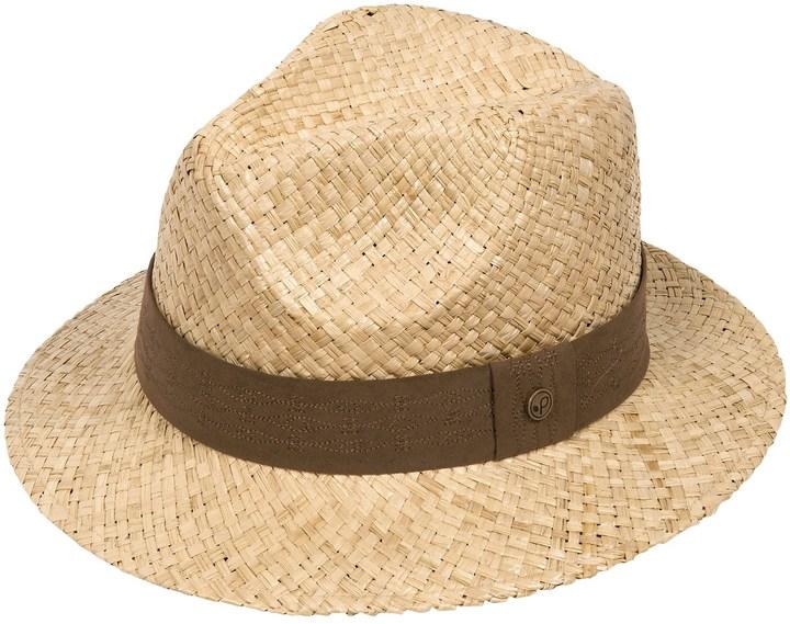 Pistil Madrid Fedora Hat - Raffia (For Women)