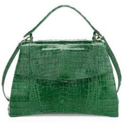 Nancy Gonzalez Joleen Crocodile Top Handle Bag