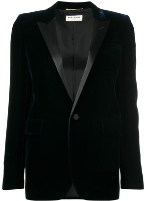 Saint Laurent Iconic Le Smoking tube jacket