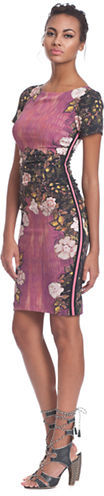 Tracy Reese Floral Printed Dress