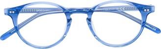 Epos Efesto round frame glasses