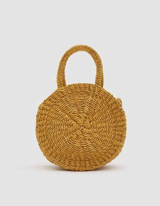 Clare Vivier Woven Petit Alice Bag in Yellow