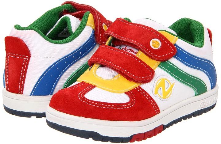 Naturino Sport 299 SP12 (Toddler) (RedWhite/Yellow/Green) - Footwear
