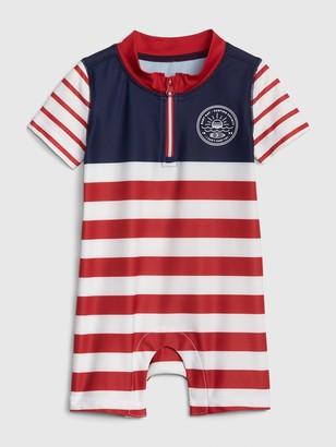 1844e377ce Boy Short One Piece Swimsuits - ShopStyle