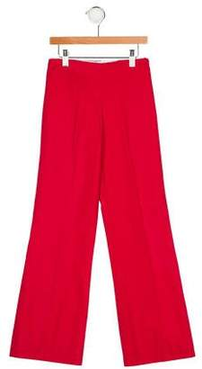 Papo d'Anjo Girls' Canvas Bell Bottoms