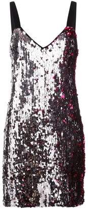Tanya Taylor two-tone sequin dress