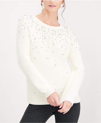 INC International Concepts I.n.c. Allover Sparkle Top, Created for Macy's