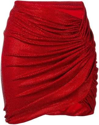 Alexandre Vauthier rhinestone embellished skirt