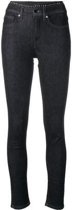 Victoria Victoria Beckham logo tape jeans