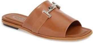 Tod's Double-T Slide Sandal