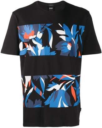 HUGO BOSS graphic print T-shirt