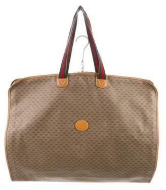 Gucci Vintage GG Plus Garment Carrier