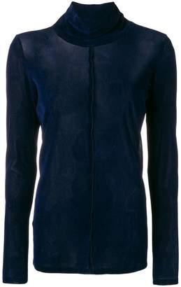 Demoo Parkchoonmoo turtleneck velvet sweater