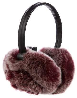 Adrienne Landau Dyed Fur Ear Muffs