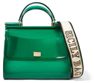 Dolce & Gabbana Sicily Large Pvc Tote - Green