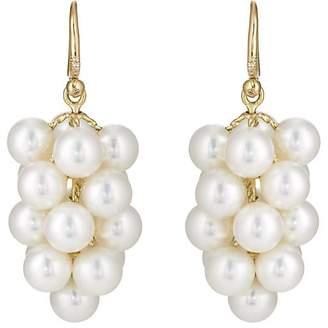 Irene Neuwirth Women's Akoya Pearl Cluster Earrings
