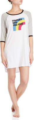 Juicy Couture Graphic Raglan Sleep Shirt