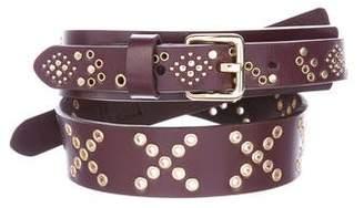 Rebecca Minkoff Studded Leather Belt w/ Tags