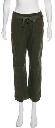 Humanoid Cropped Straight-Leg Pants