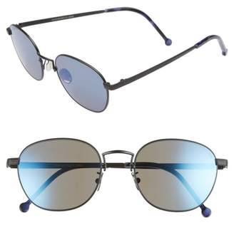 CUTLER AND GROSS 52mm Polarized Round Sunglasses